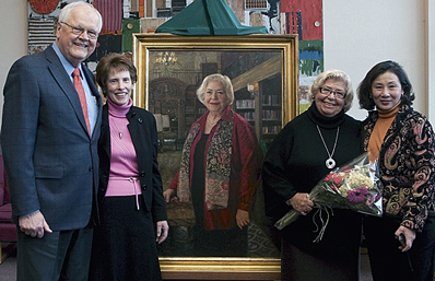 Marysa Navarrao Portrait Unveiling