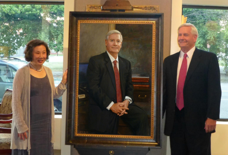John McNeil's Portrait Unveiling