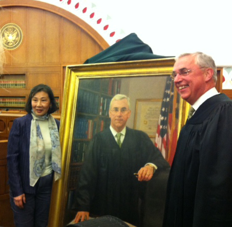 Honorable George A. O'Toole, Jr. Portrait Unveiling