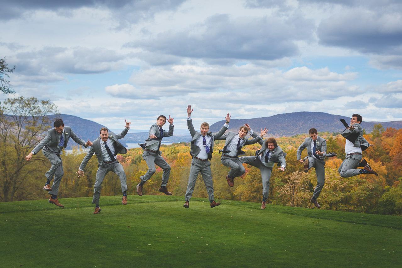 Garrison Wedding Groomsmen
