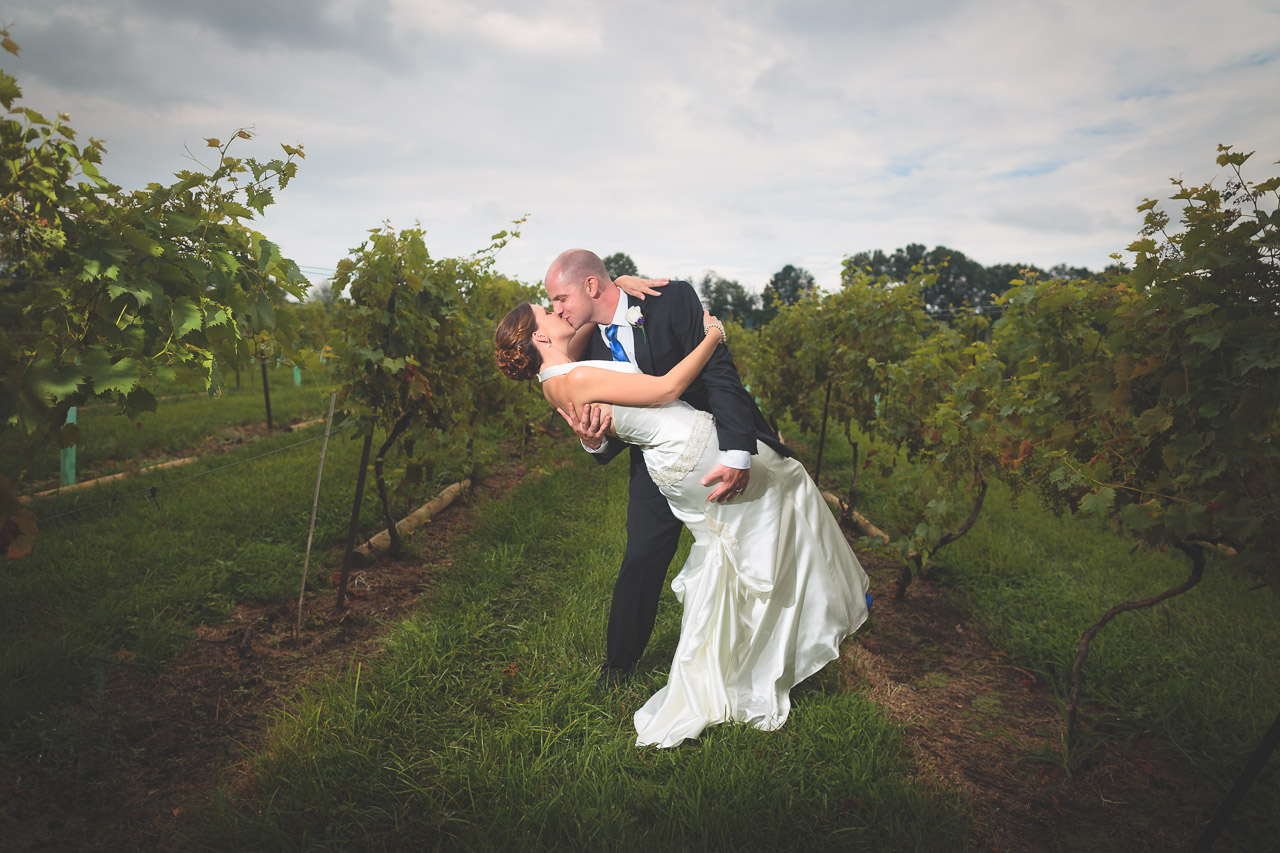 Wedding Unionville Vineyards