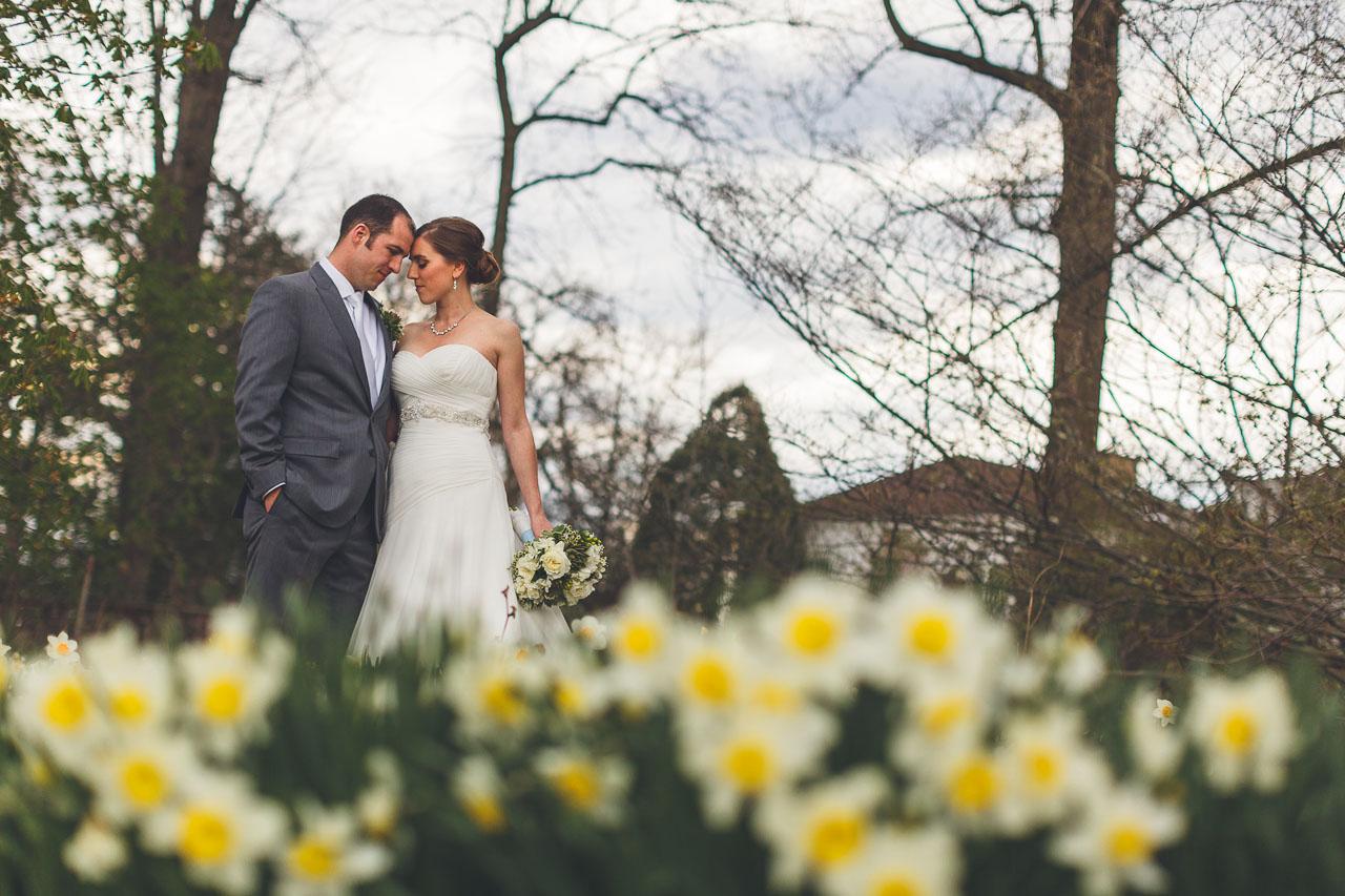 Wedding Portrait Frelinghuysen Arboretum