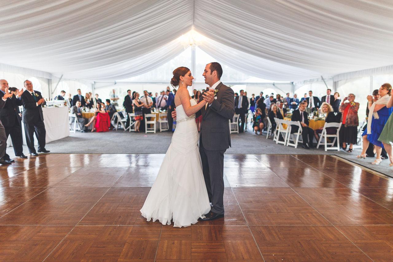 First Dance Wedding Frelinghuysen Arboretum