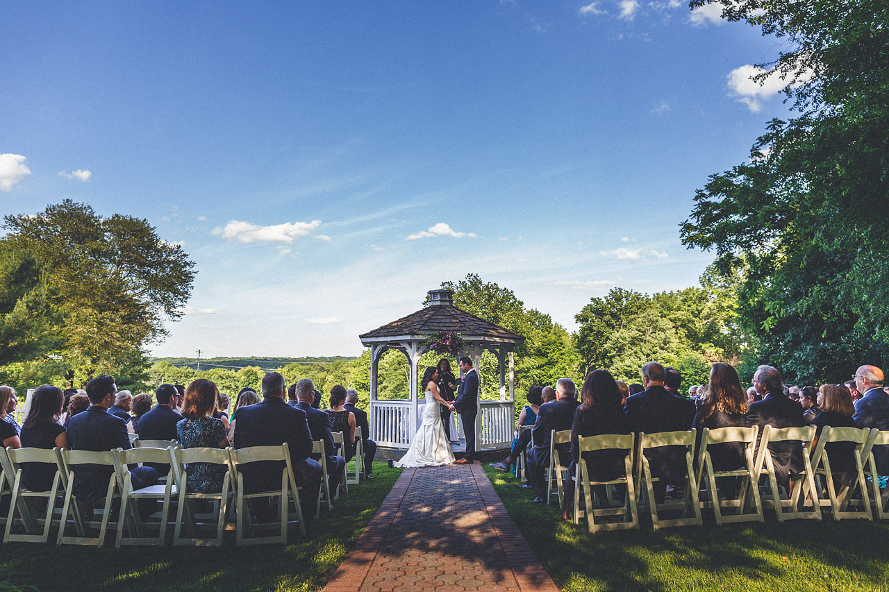 Wedding Ceremony Knoll Country Club