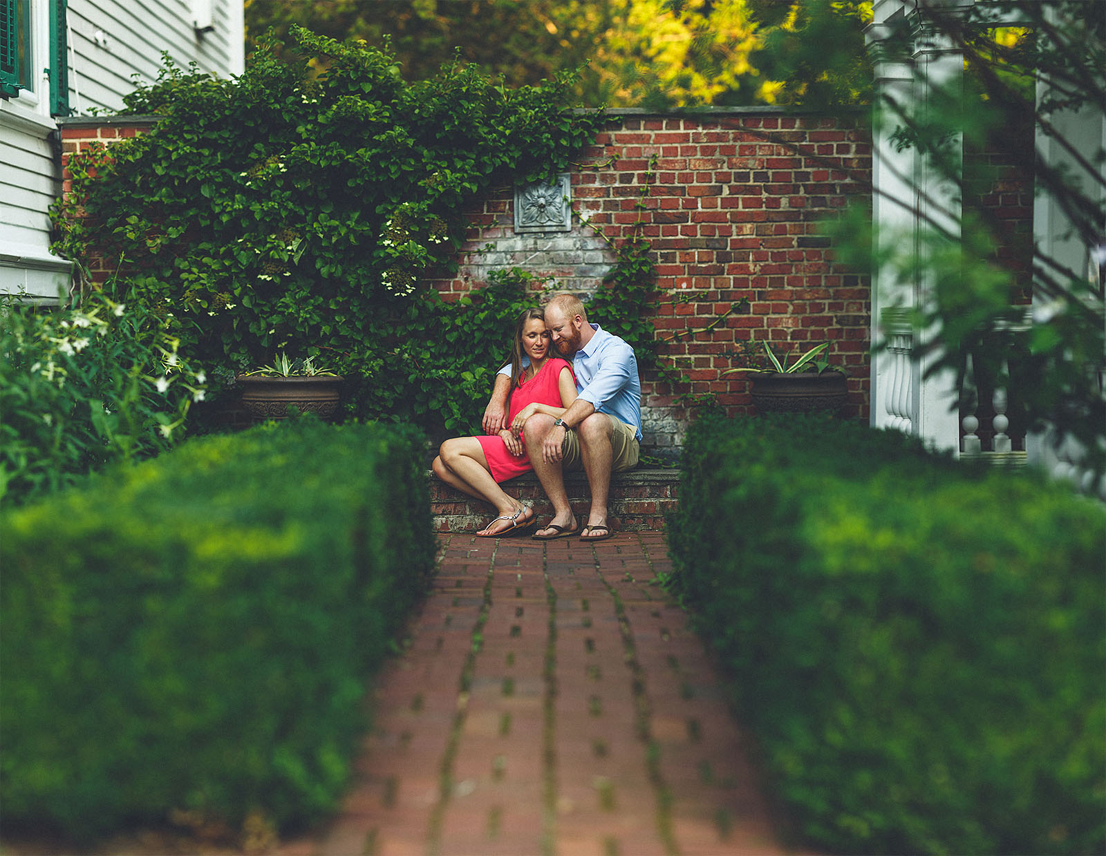 Morristown NJ Engagement Photography