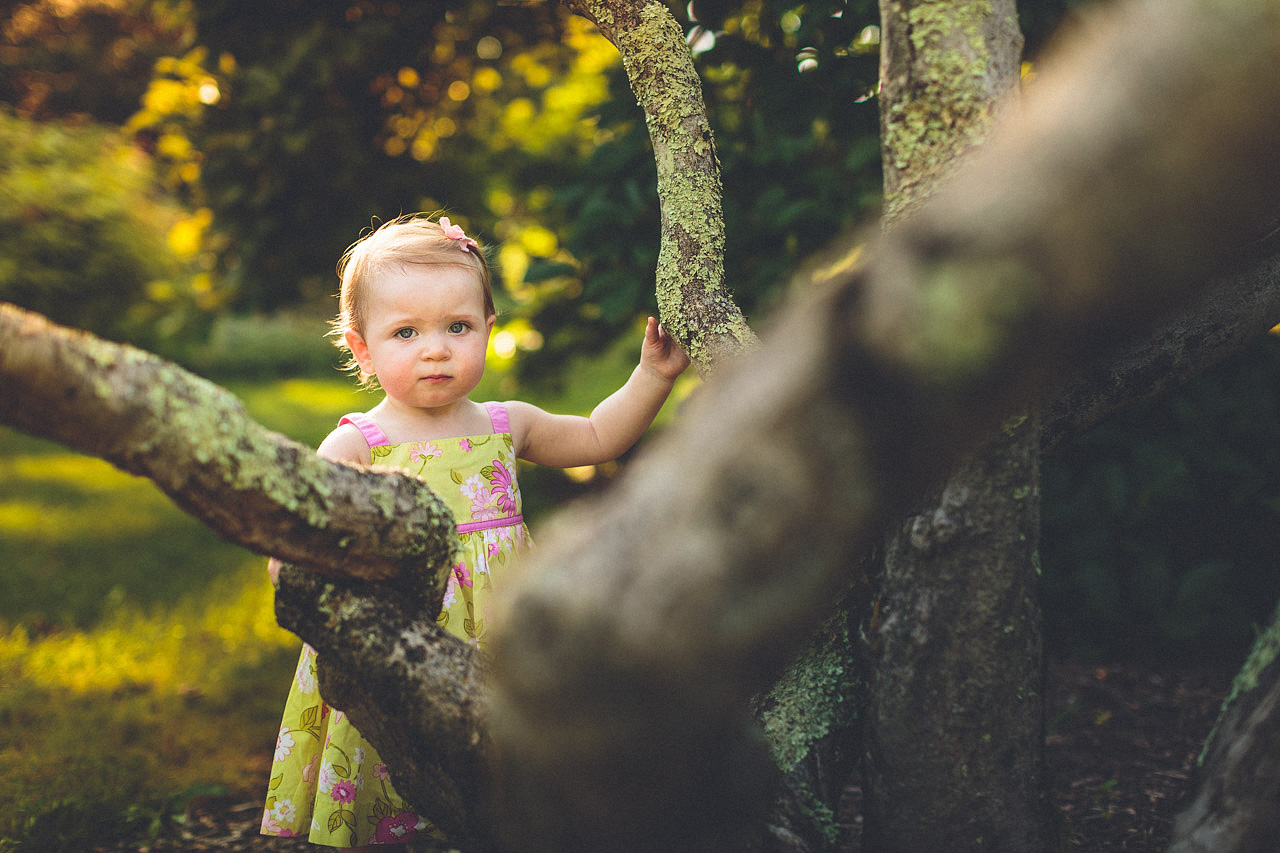 Willowwood Arboretum First Birthday Portrait