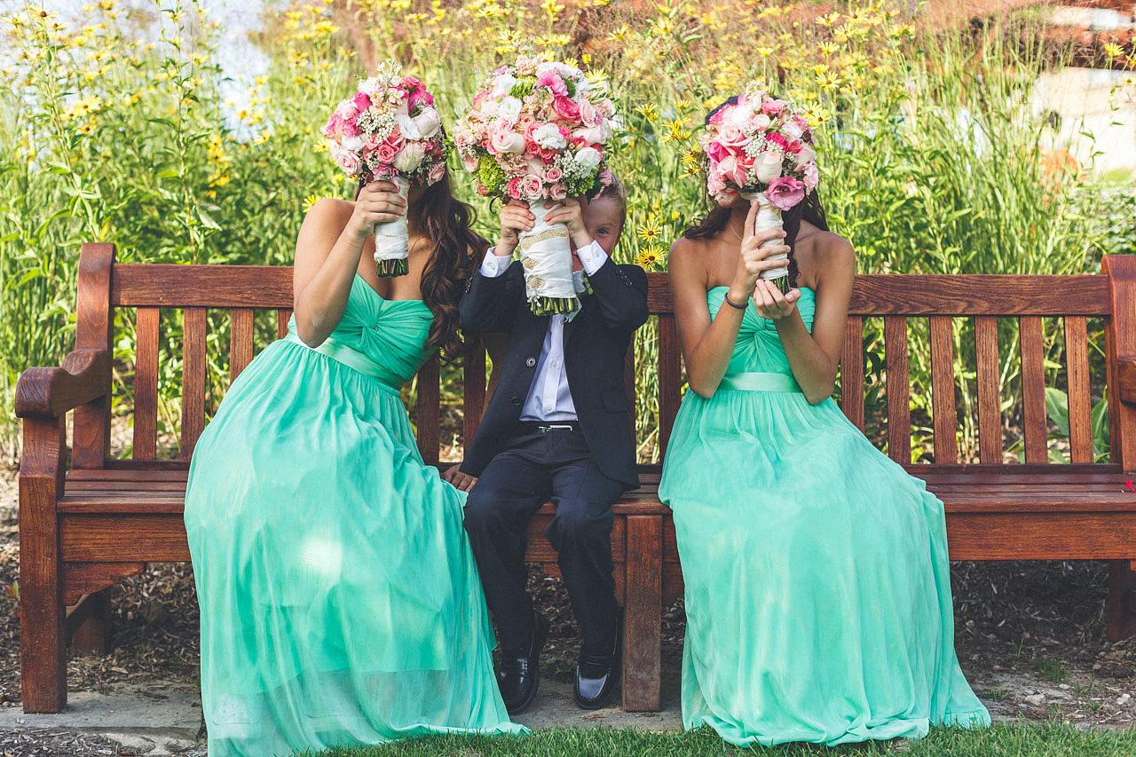 Crystal Springs Wedding Portrait