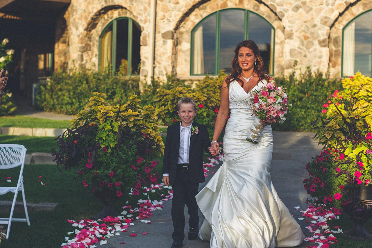 Bride Crystal Springs Wedding