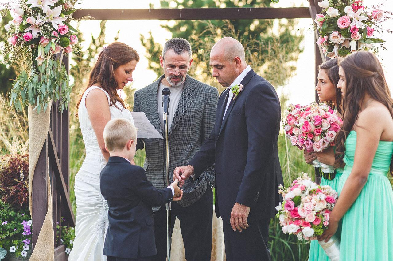 Crystal Springs Wedding Ceremony