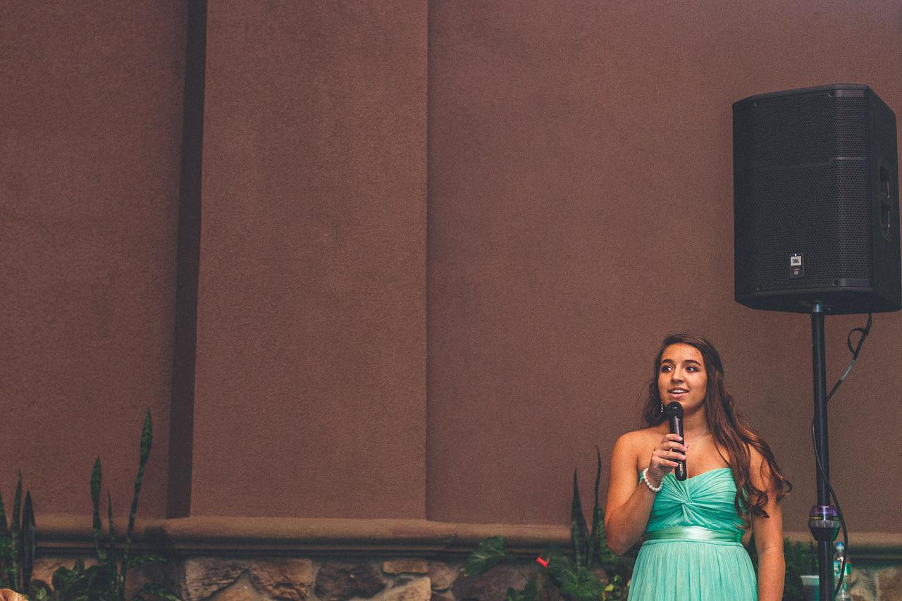 Daughter Singing
