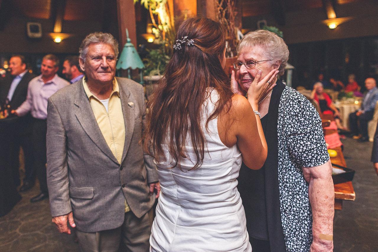 Crystal Springs Wedding Reception