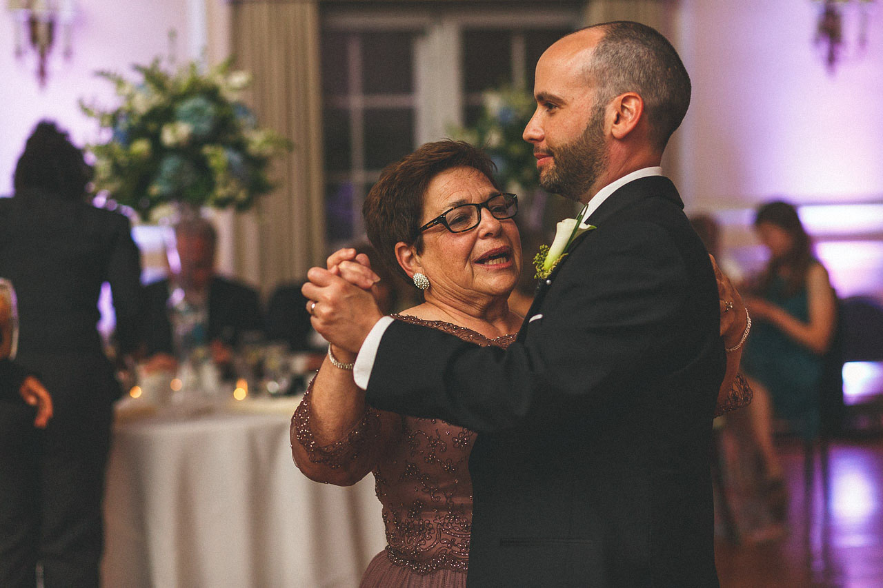 Mother and Groom