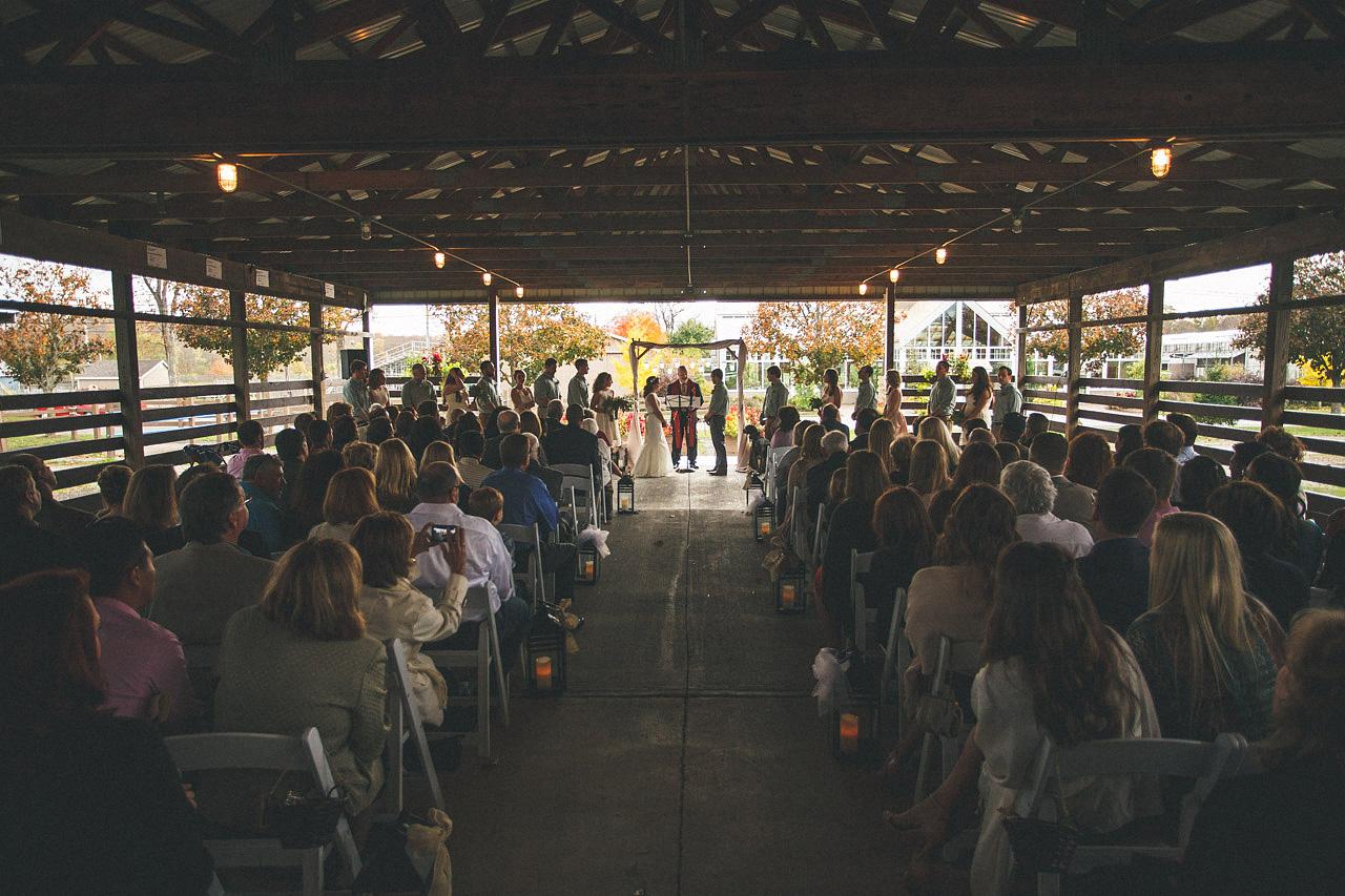 Barn Wedding Ceremony NJ