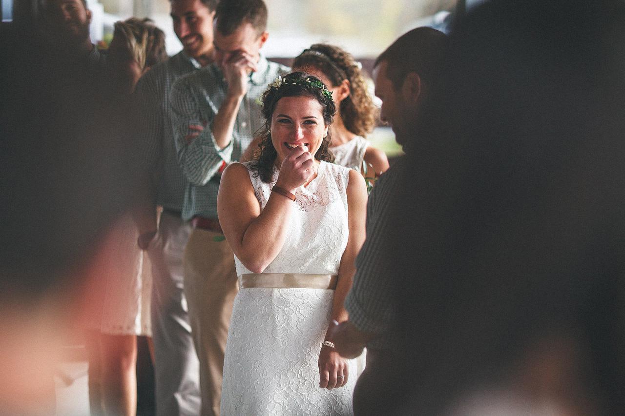 Bride Laugh