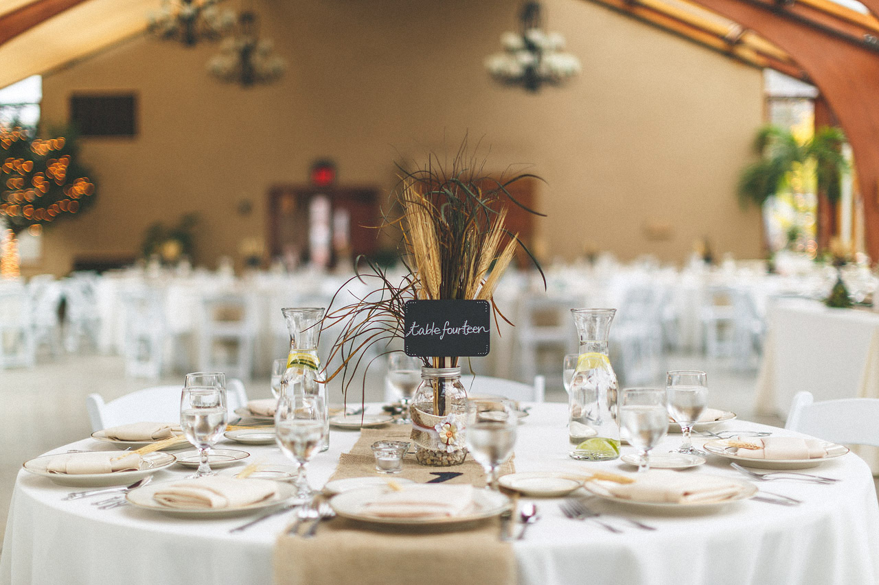 The Conservatory Table Settings