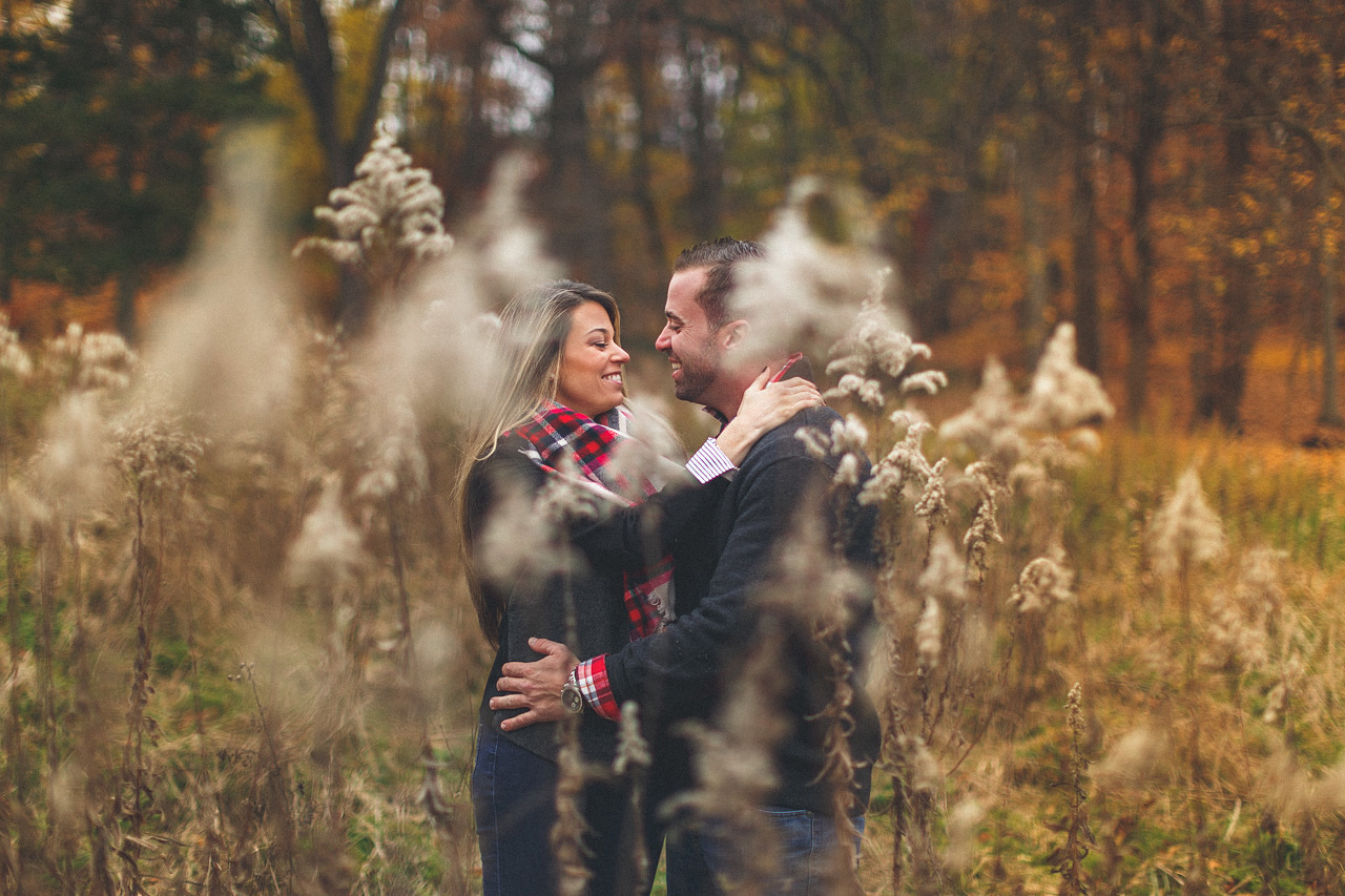 Engagement Portrait Field
