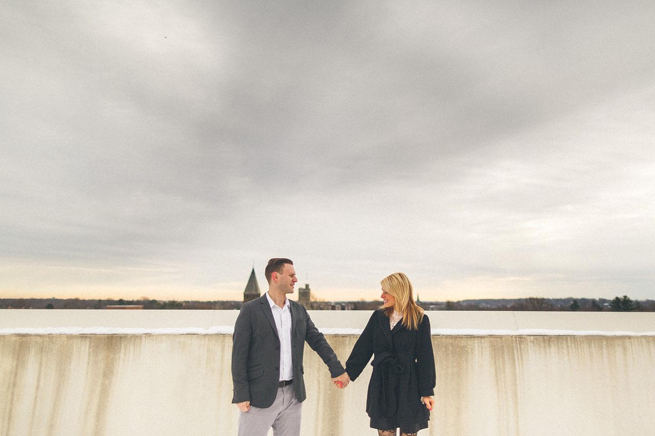 Engagement Photo Sky