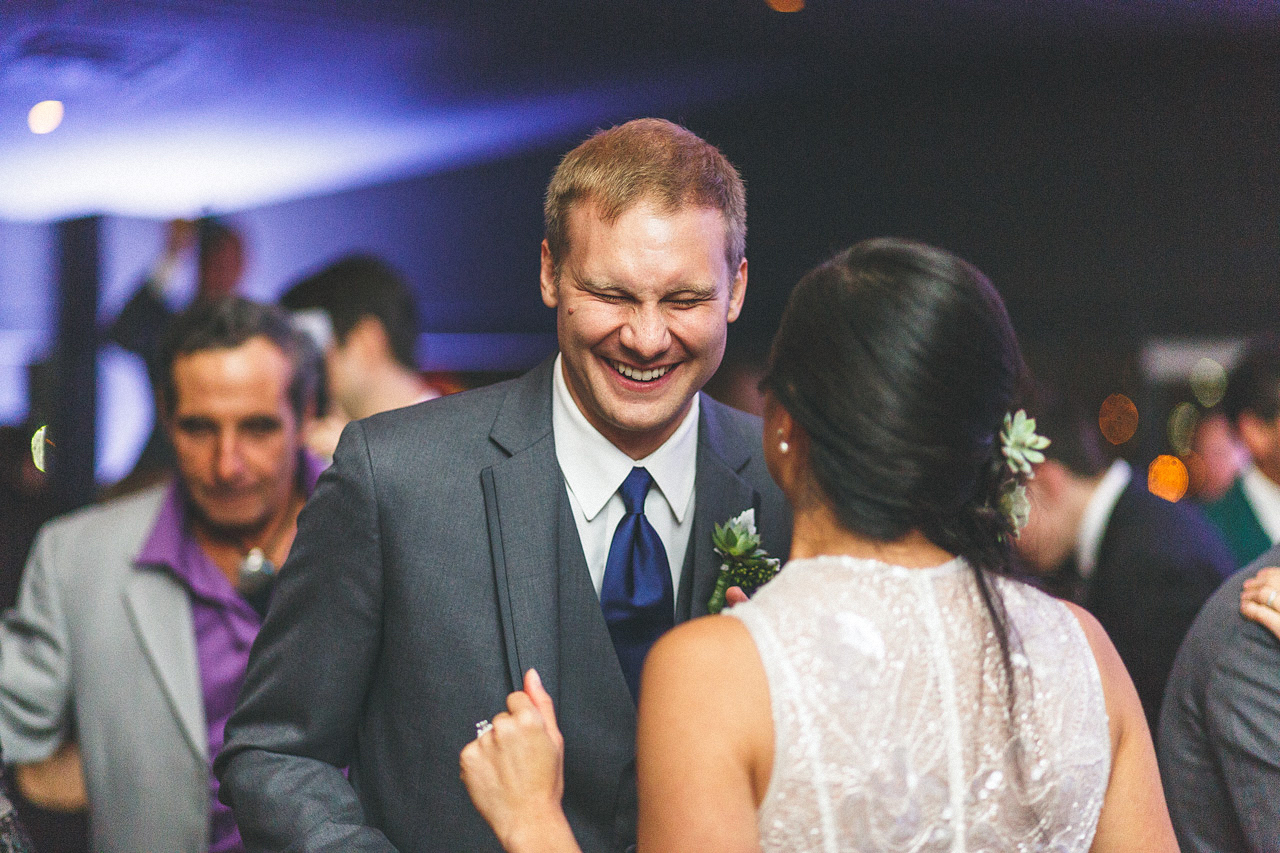 Groom Laugh
