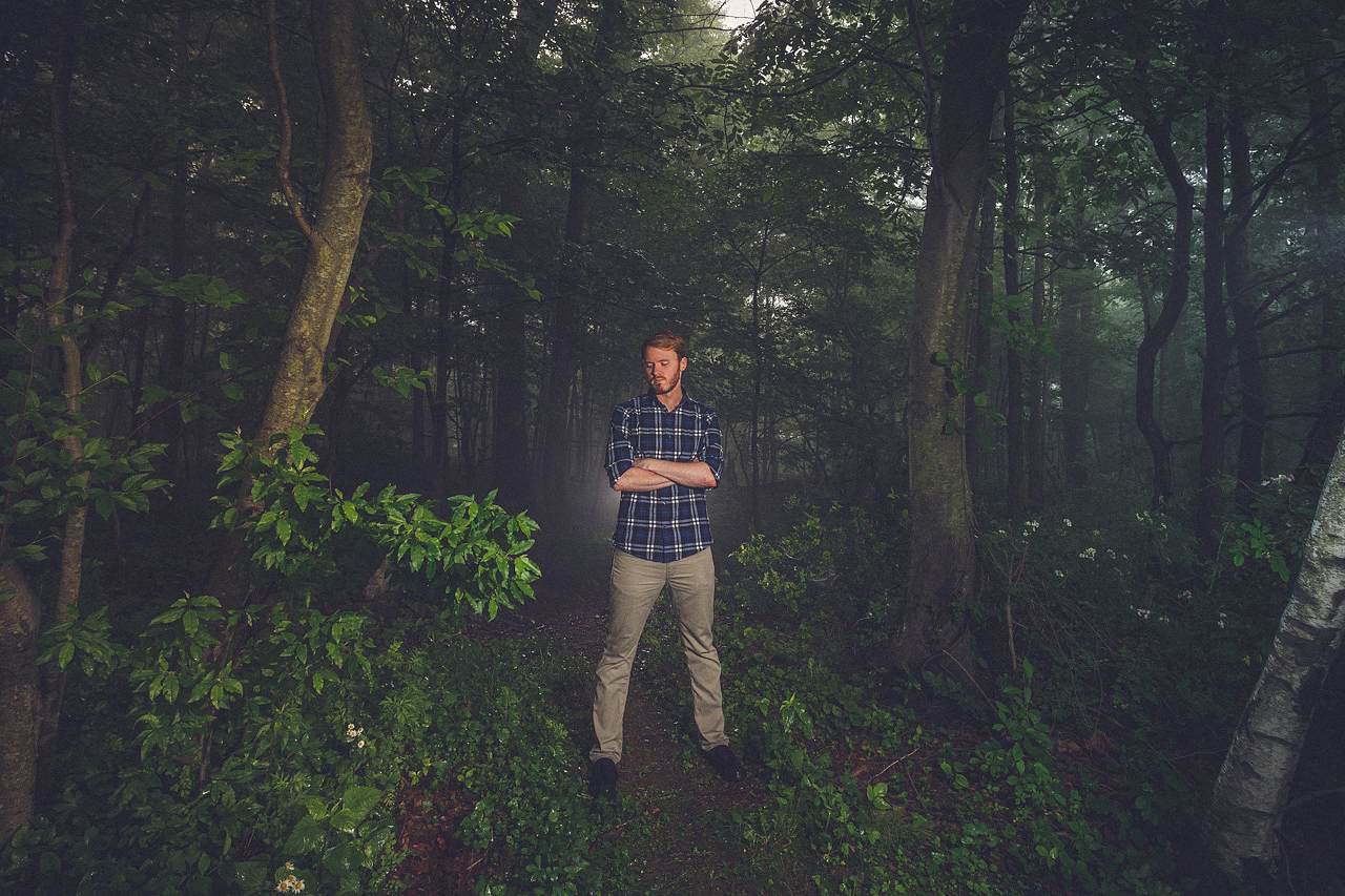 Woods Selfie Turkey Brook Park