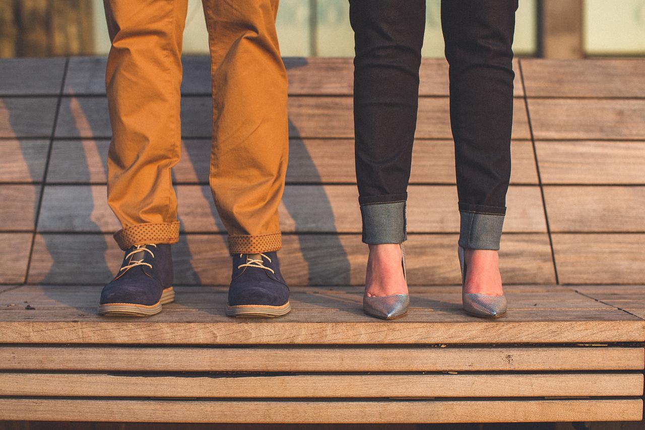 NYC Engagement Fashion Style