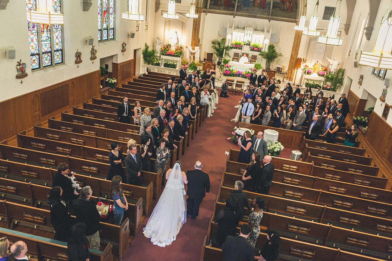 St Aloysius Parish Wedding