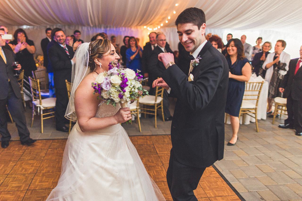 Bride and Groom Enter