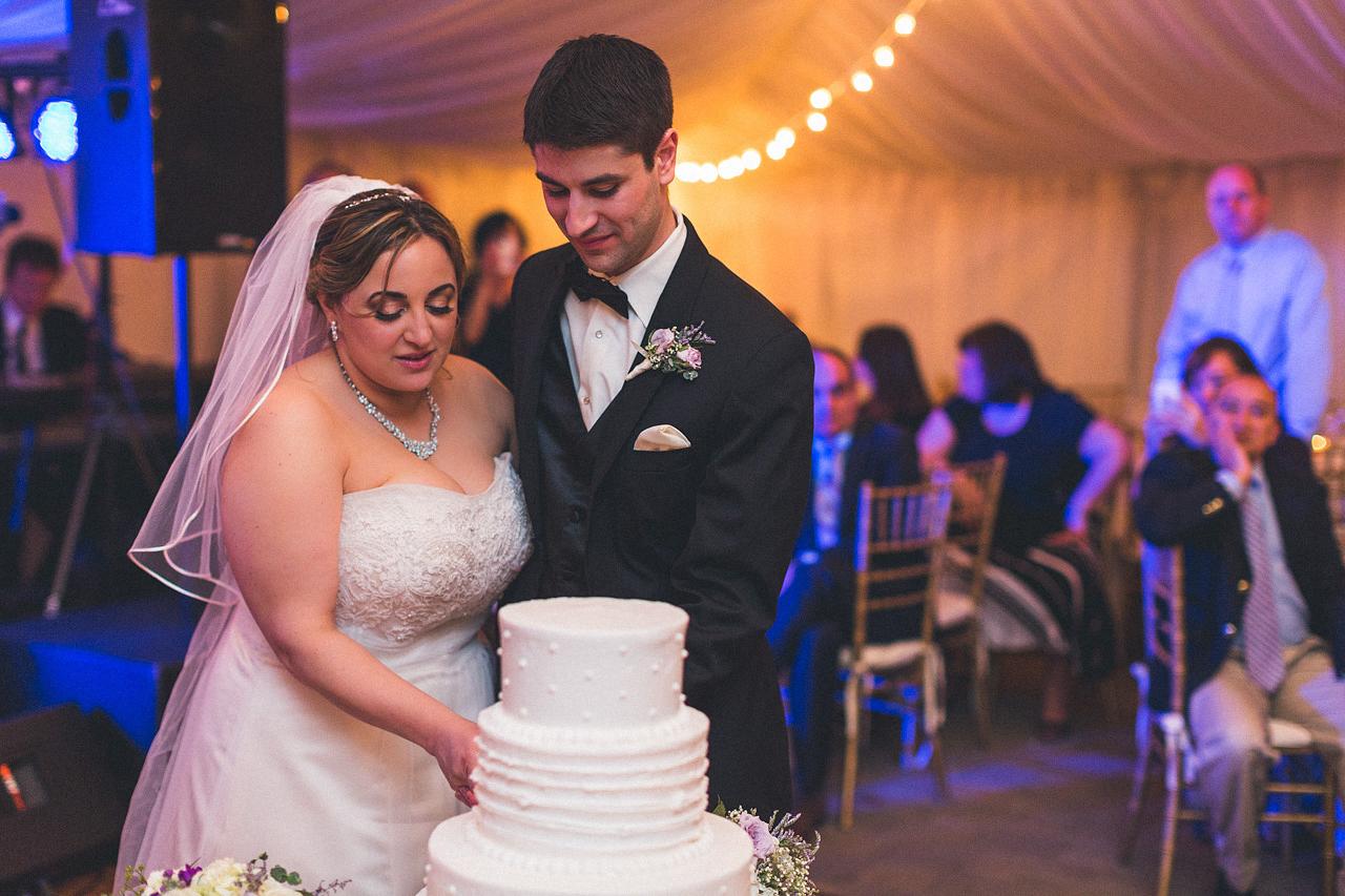 Bride/Groom Cut Cake