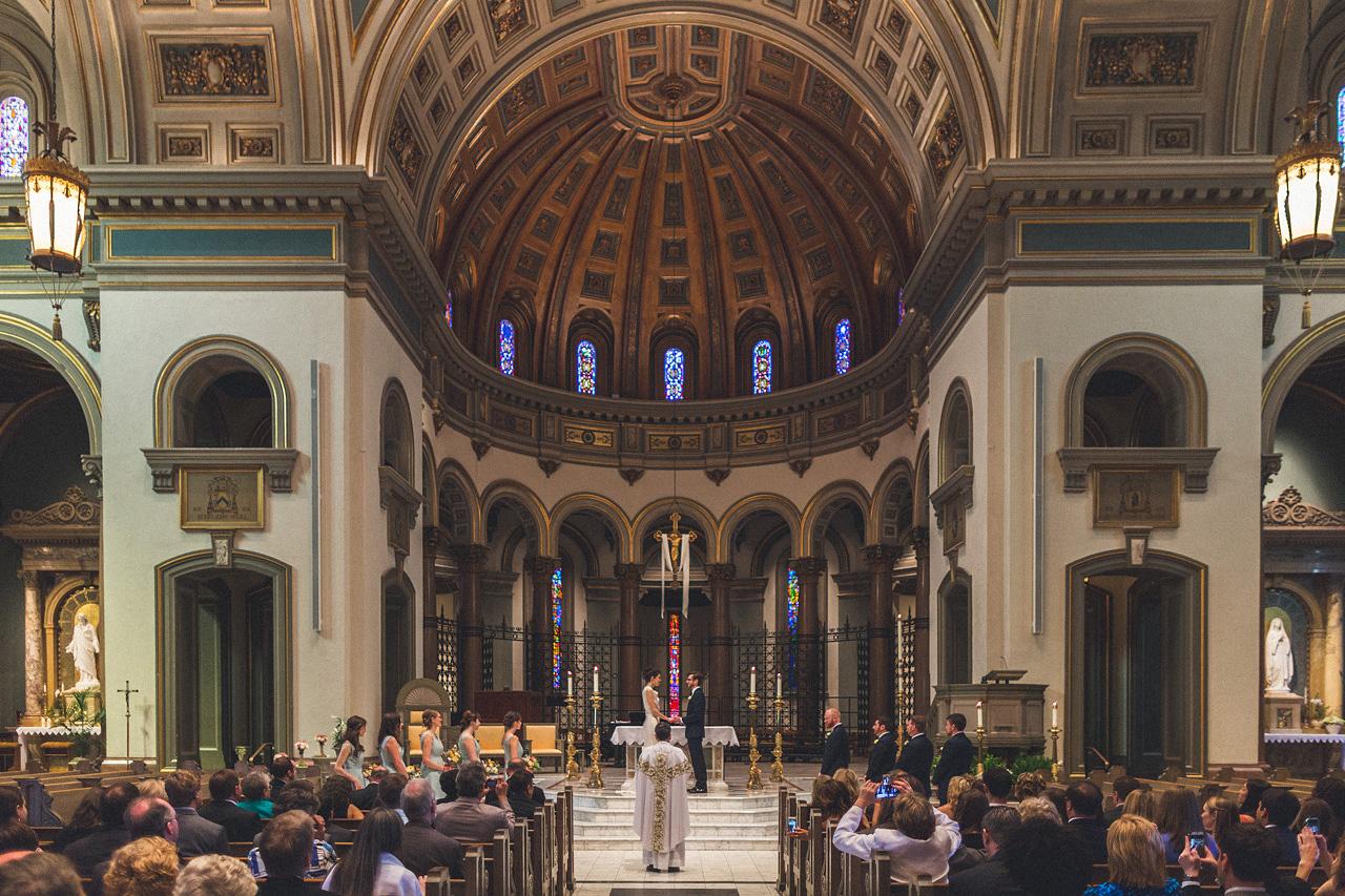 Cathedral Bride Groom