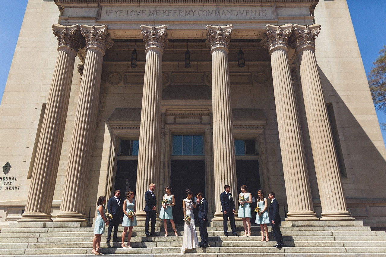 Bridal Party Cathedral