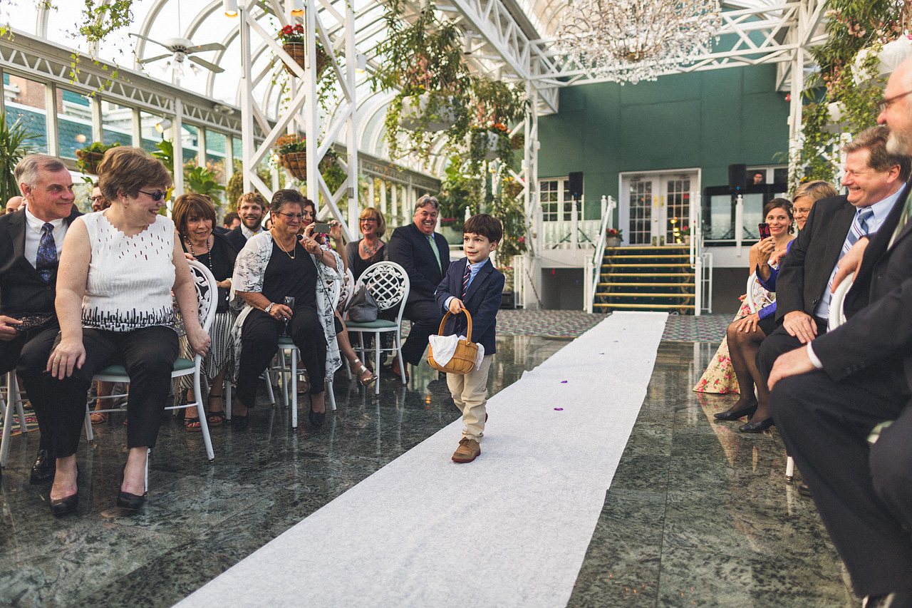 Madison Hotel Wedding Ceremony