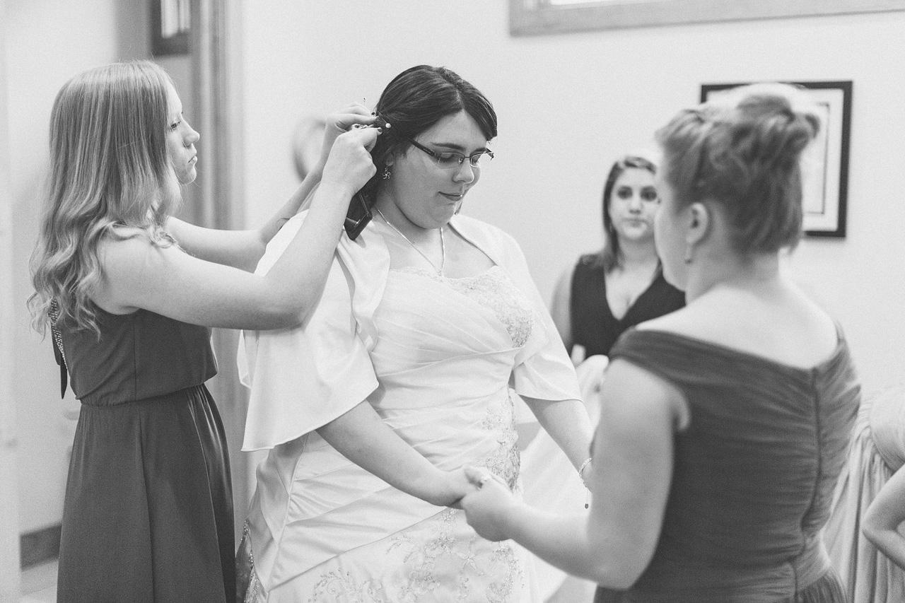Bride Prays