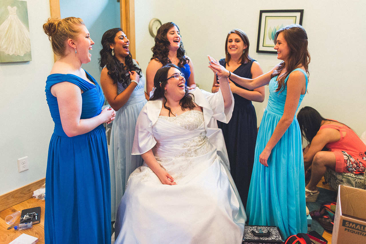 High-five for Weddings