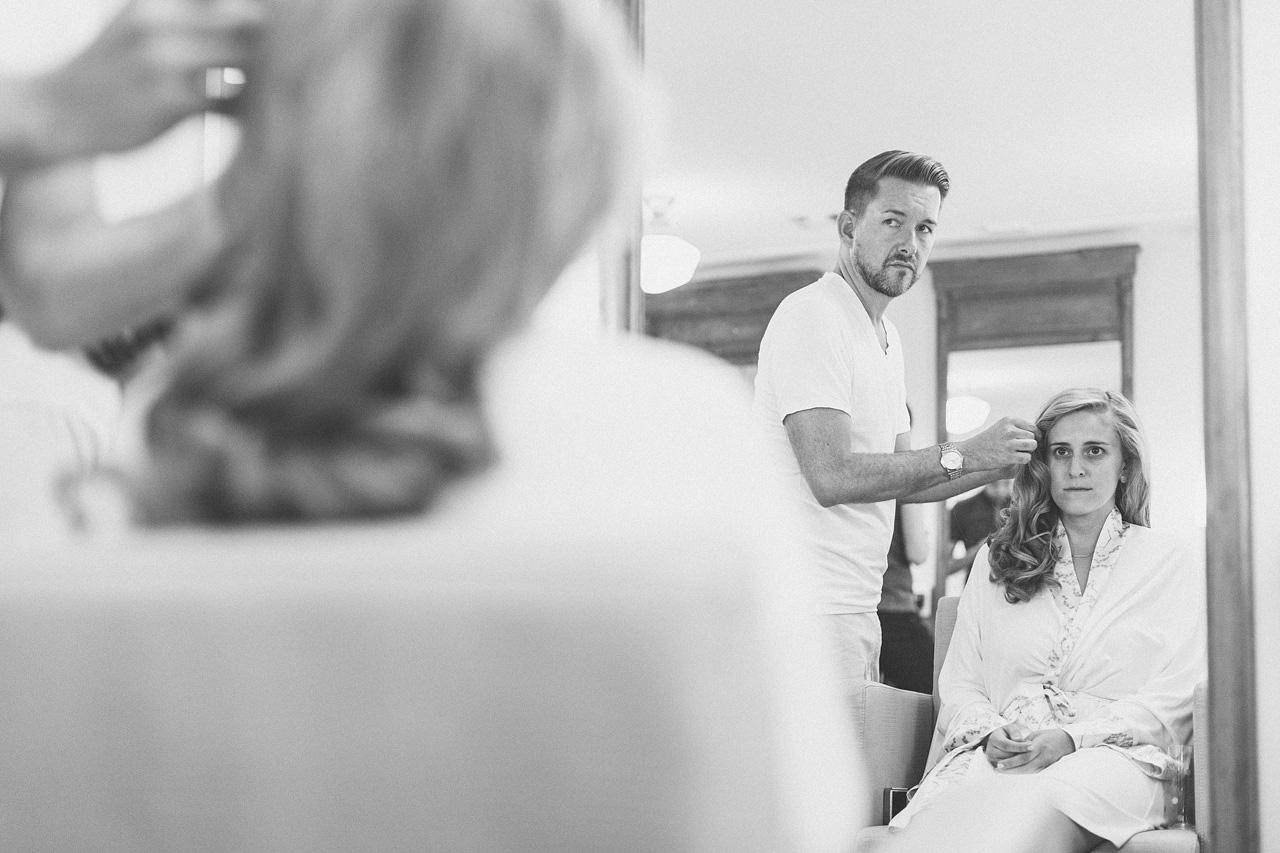 Wedding Far Hills Salon