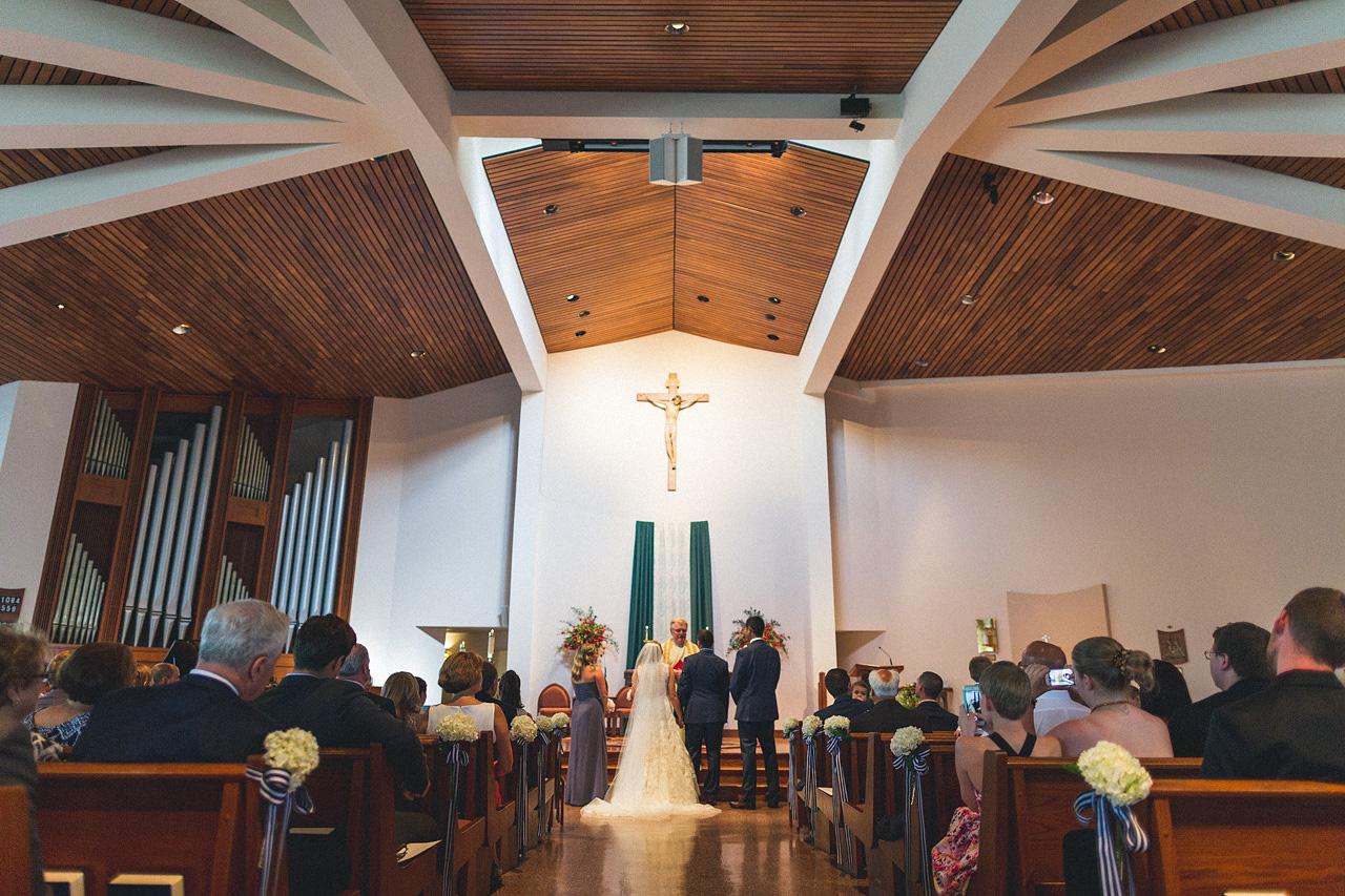 St Joseph Church Mendham Wedding