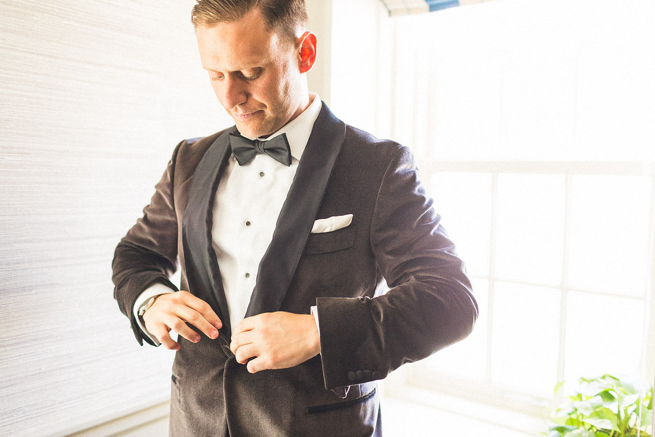Groom final touches