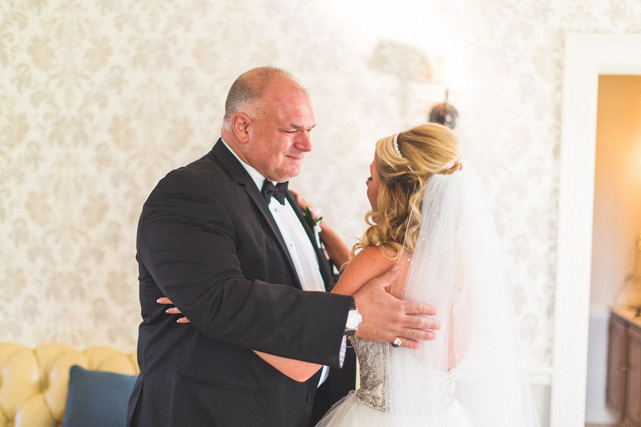 Father sees Bride