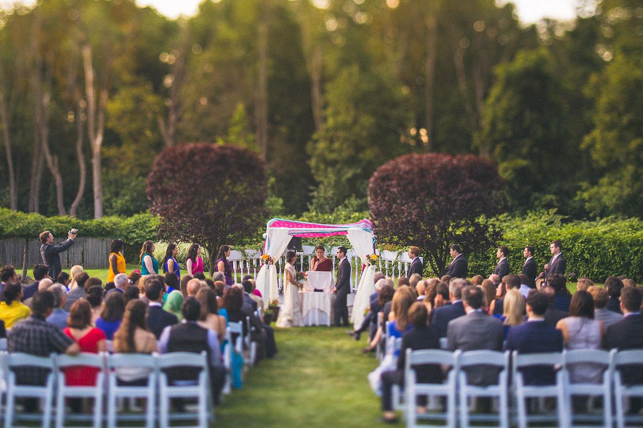 Mayfair Farms Wedding Ceremony