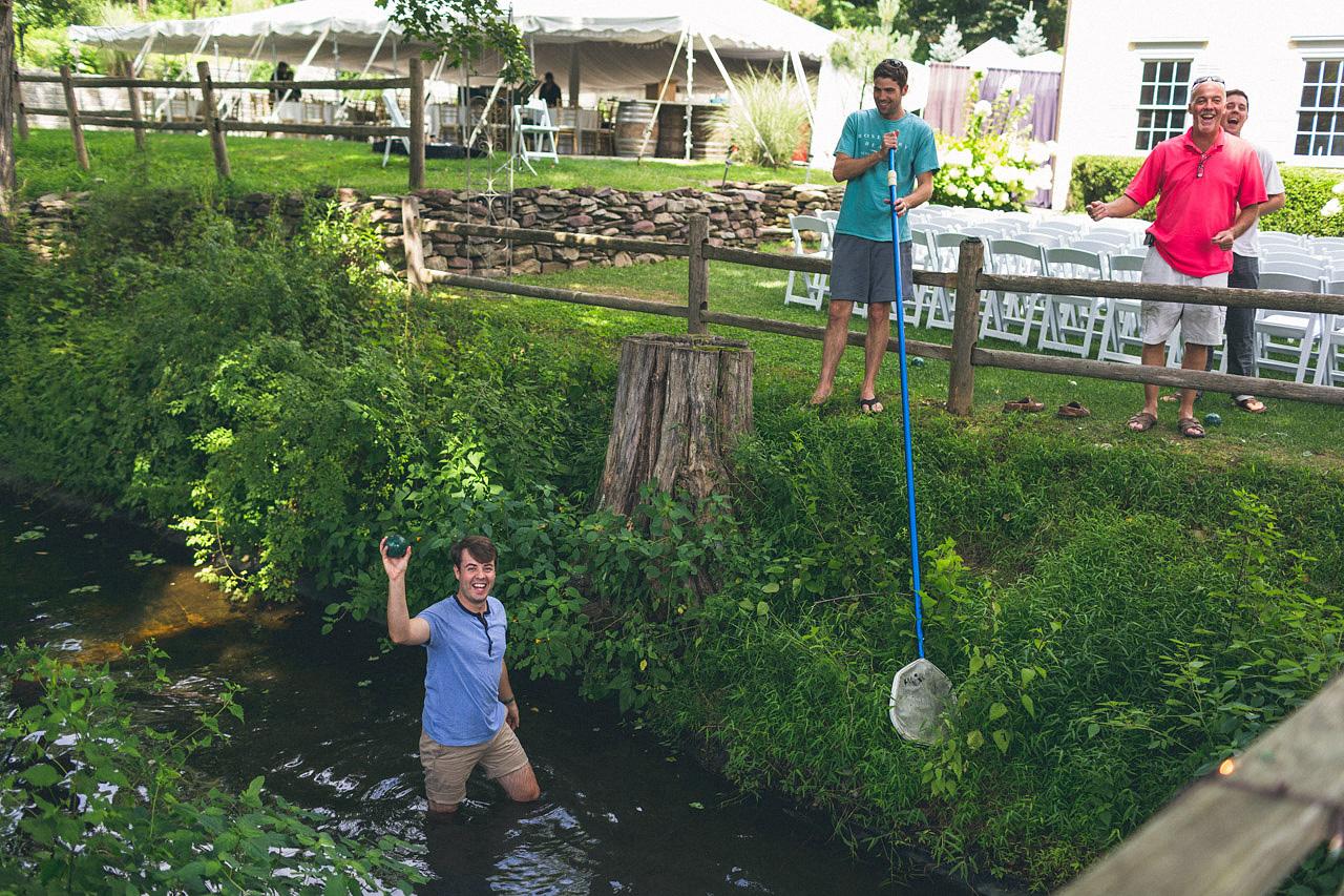 Boche Ball Millrace Pond