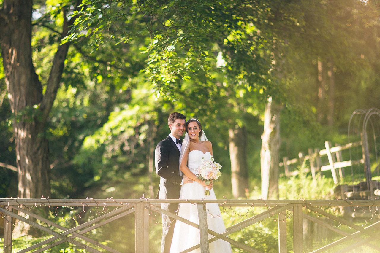 Millrace Pond Wedding Portraits