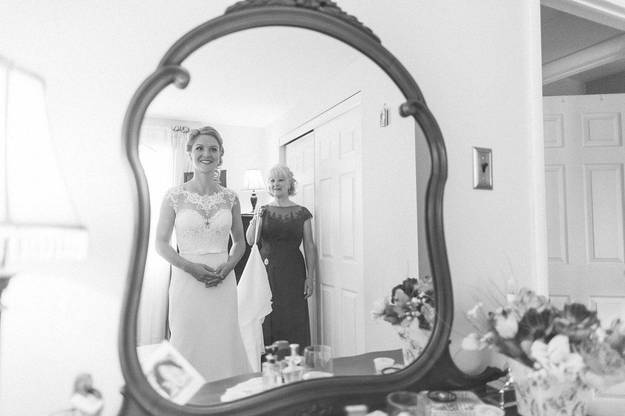 Mom Helps Bride