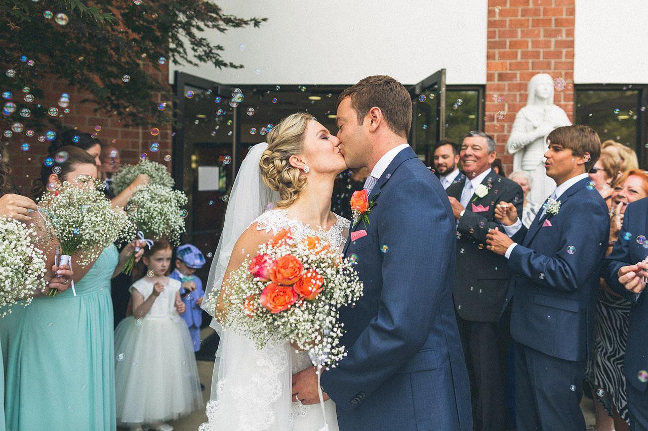 Bubbles Wedding Ceremony