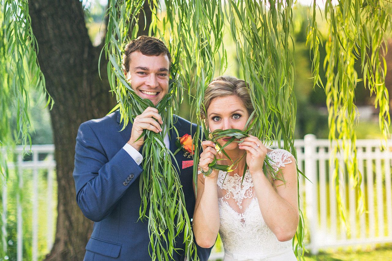 Fun The Mansion Wedding Portraits