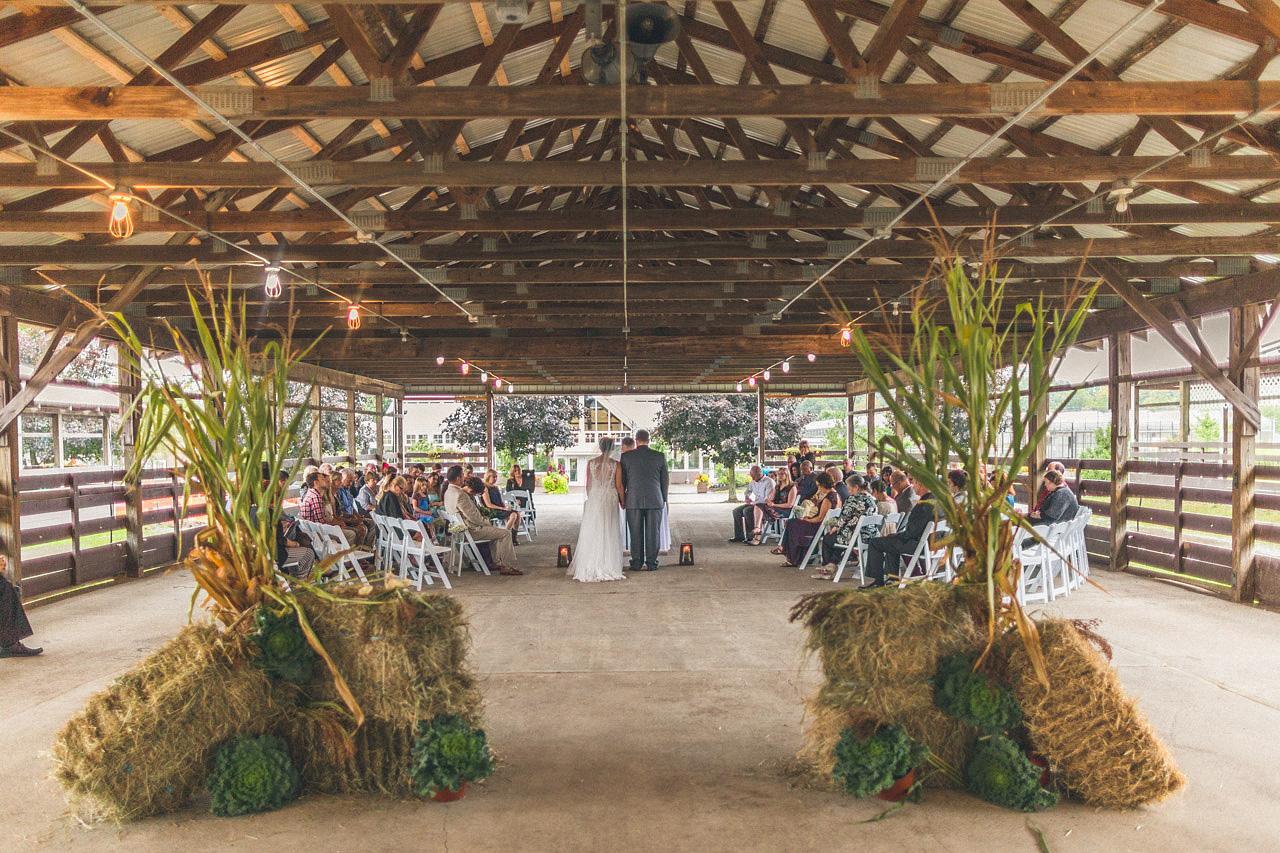 Barn Wedding Sussex New Jersey