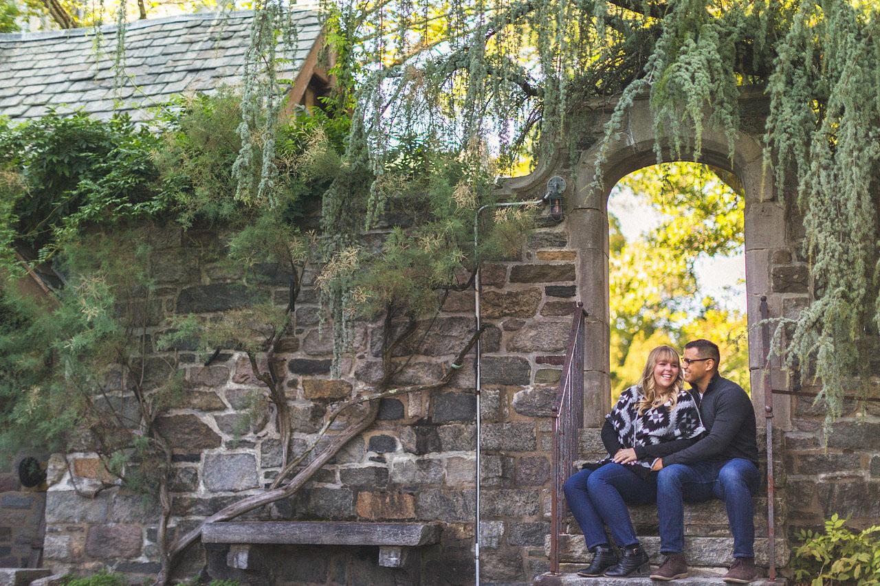 Skylands Manor Archway Photo