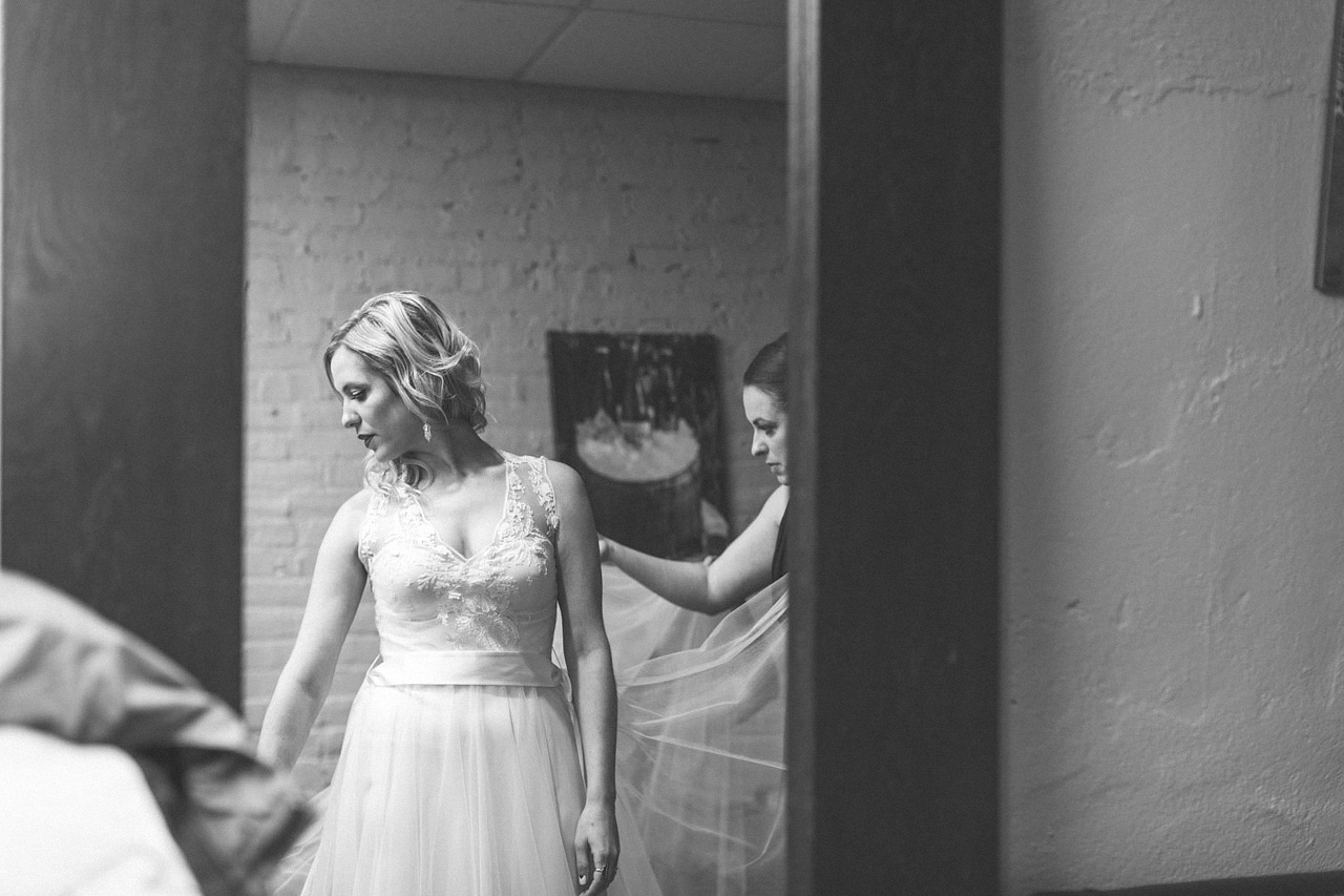 Wedding Dress on Allentown Brewworks
