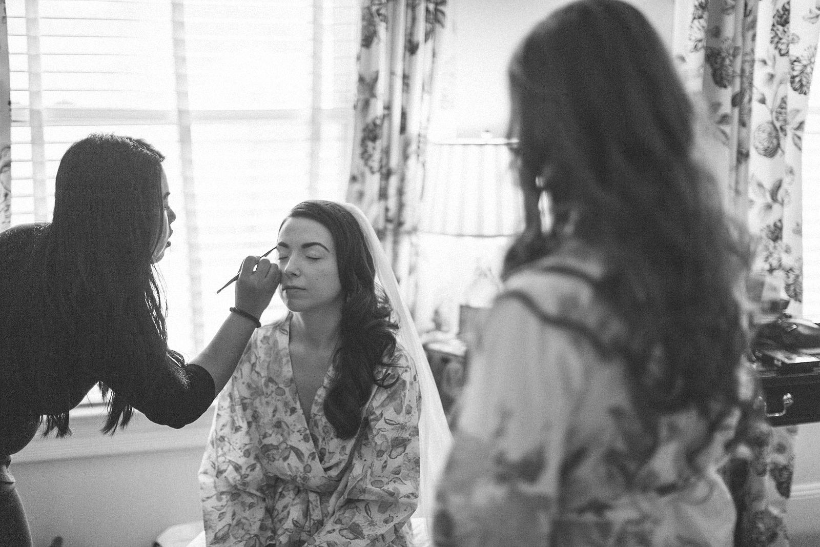 Wedding Makeup at Bernards Inn