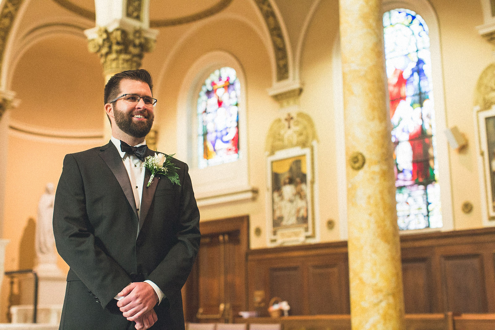 Groom sees Bride for the first time