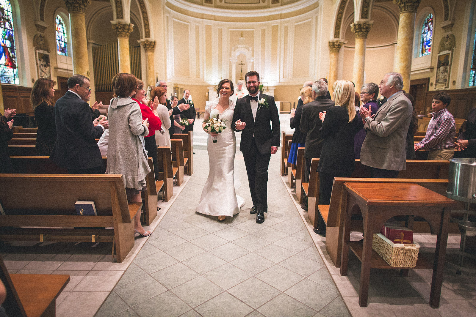Immaculate Conception Wedding Montclair NJ