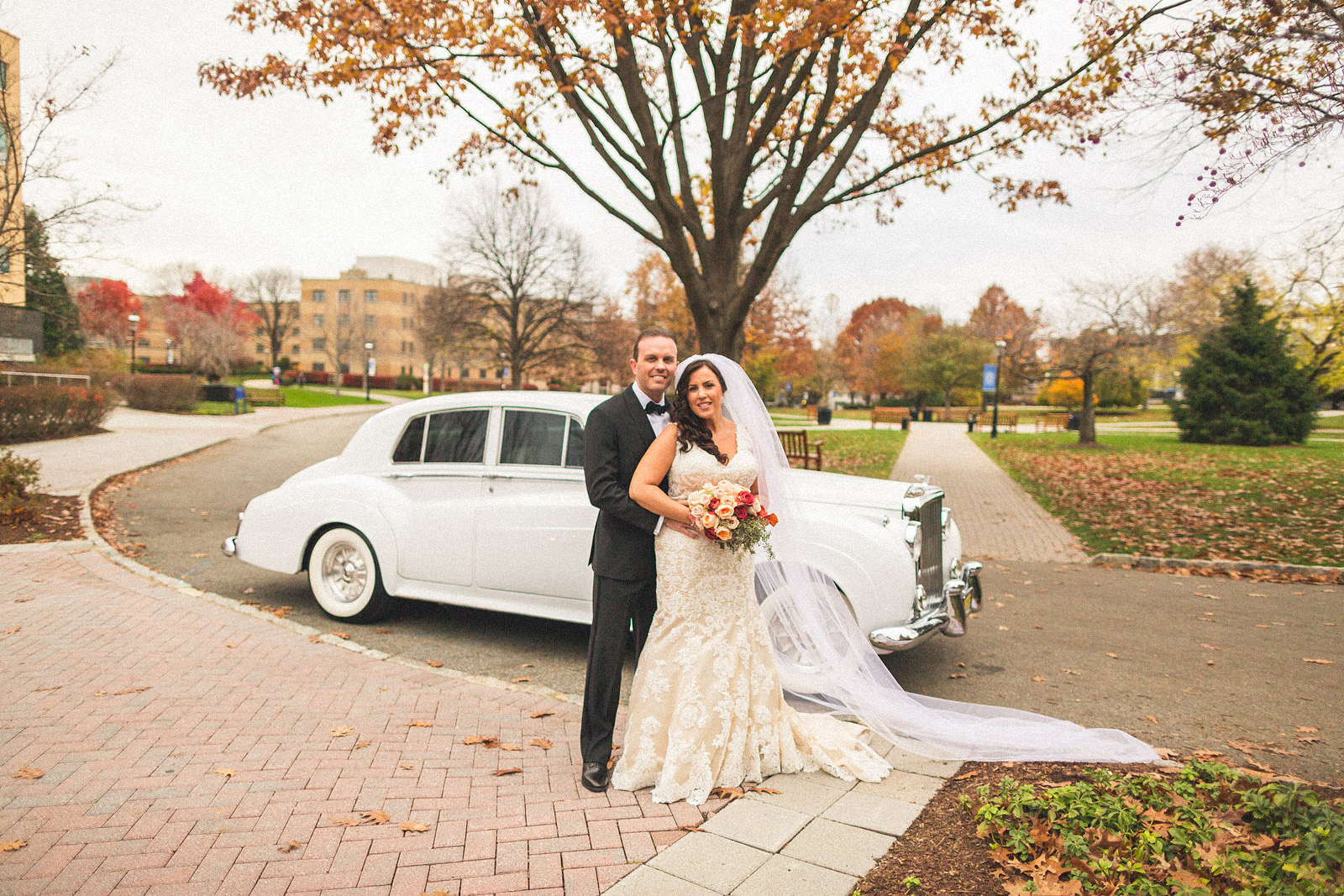 Seton Hall University Wedding Portrait