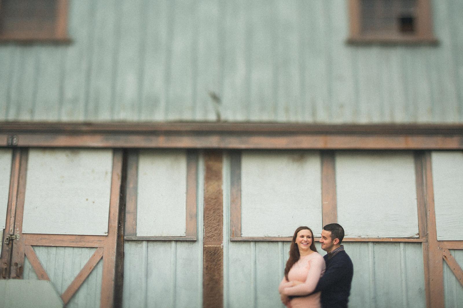 Barn Engagement Photos